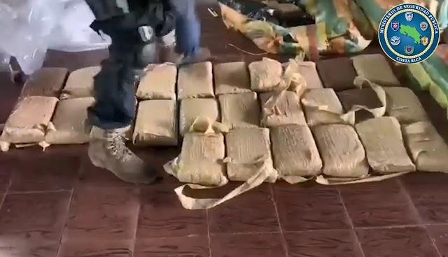 Autoridades policiales decomisan 510 kilos de marihuana y capturan a cuatro sujetos