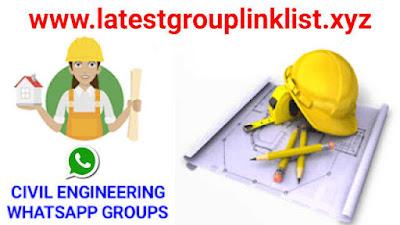 Join Civil Engineering Whatsapp Group Link 2020