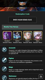 Kumpulan Script Phising Terbaru: Script Phising Mobile Legends Weekly Heroes