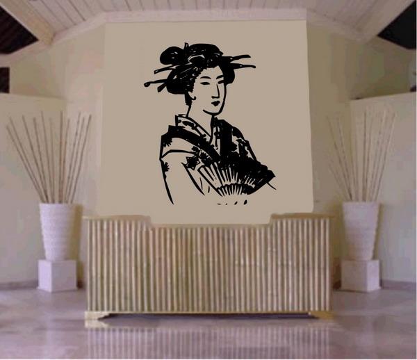 Art Wall Decor: Japanese Bamboo Art Wall Photos
