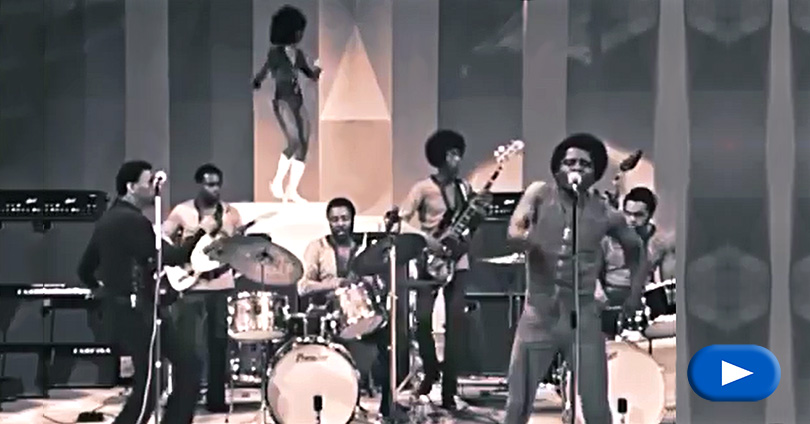 James Brown - Sex Machine - live
