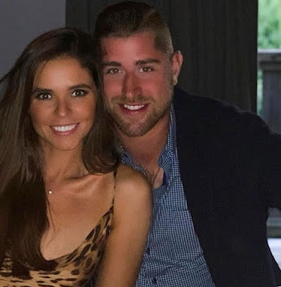 Brandon Dubinsky With His Wife