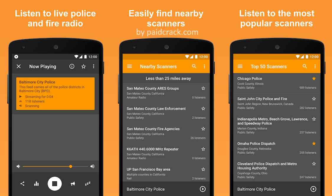 Scanner Radio Pro - Fire and Police Scanner Mod Apk 6.13.1 [Paid]