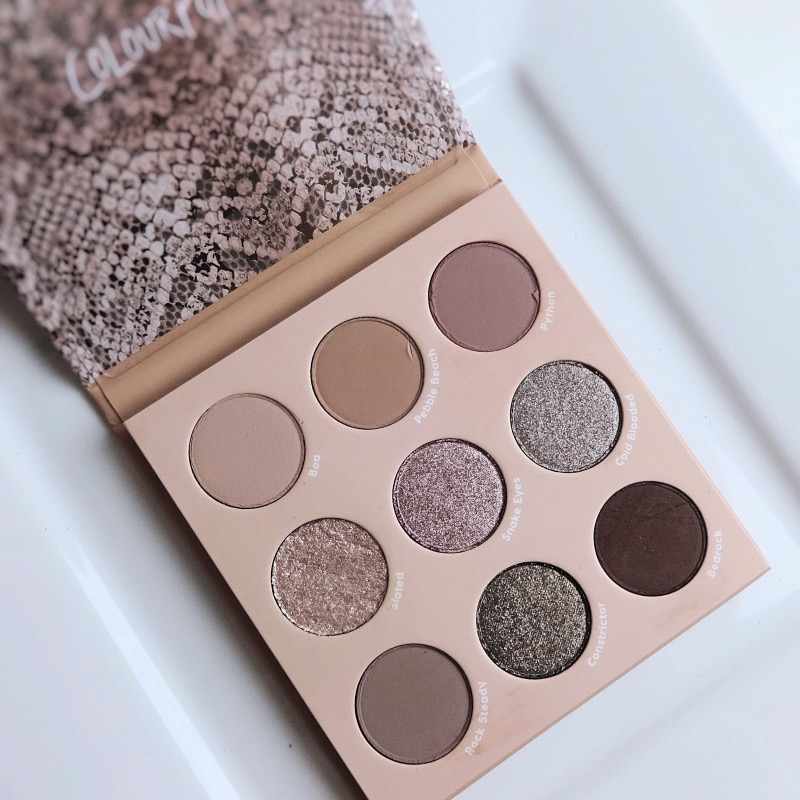 ColourPop That's Taupe Shadow Palette review swatches