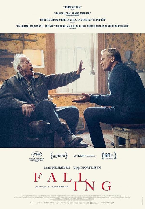 Portada de «Falling» en los cines de España
