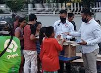 Cegah Covid19, Sekelompok Pemuda Bima di Jakarta Berbagi Paket Sembako