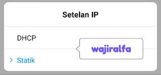 Kelebihan dan Kekurangan IP DHCP dan Static