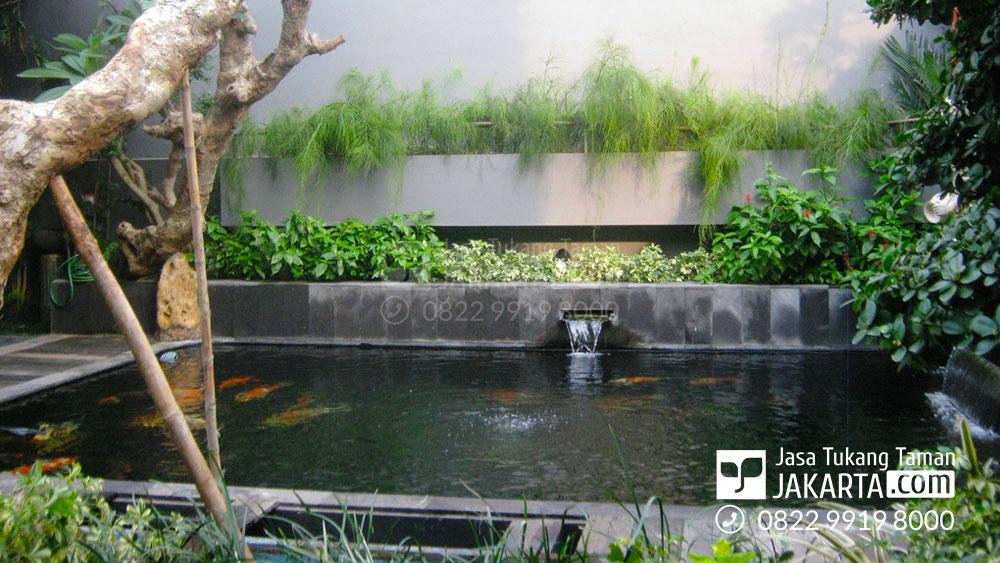 kolam ikan koi-jasa pembuatan kolam hias