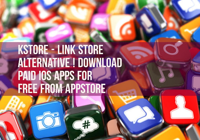 KStore is the Link Store Alternative which allows you to download paid apps and games for free directly from the AppStore with a single tap. KStore also allows you to directly download some Mods, or tweak, certain apps.