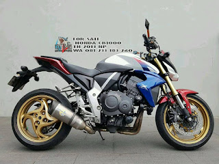 JURAGAN MOGE BEKAS : For Sale Honda CB1000 Year 2013 NP