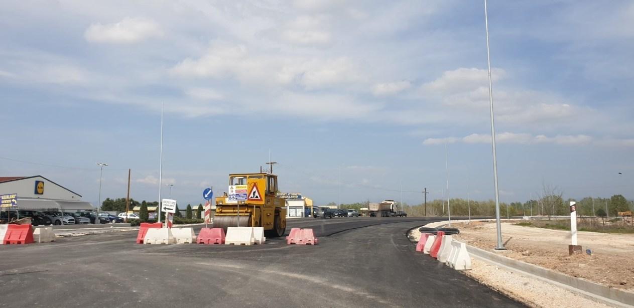 Παραδίδεται στην κυκλοφορία σήμερα το νέο τμήμα του Περιφερειακού της Λάρισας