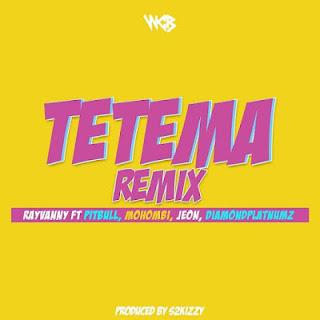 Tetema Remix Mp3 Rayvanny ft Pitbull x Mohombi x Jeon x Diamond Platnumz - Audio Download