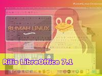 Rilis Terbaru LibreOffice 7.1