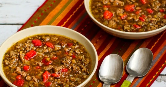 Kalyn's Kitchen®: Lentil Soup with Italian Sausage and ...