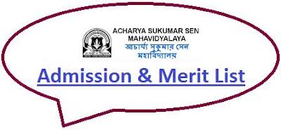 ASS Mahavidyalaya Merit List