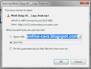 Cara Convert Video Ke MP3 Online
