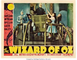 wizard of oz-lobby card-coleccion
