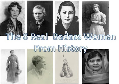 The 8 Real  Badass Women From History