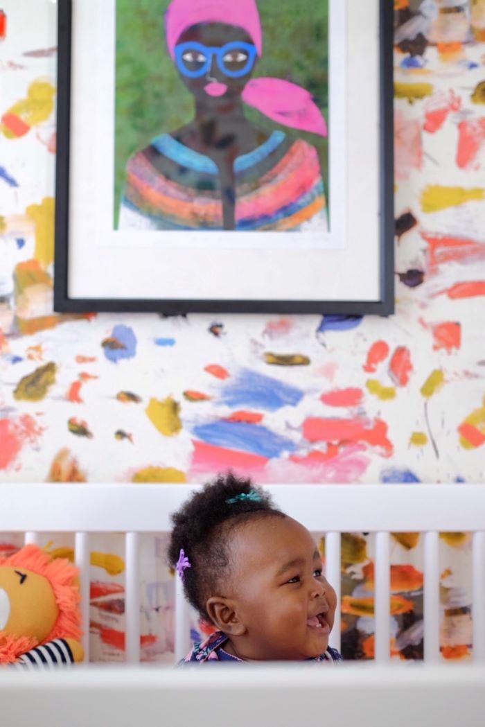 Colorful Nursery- designaddictmom