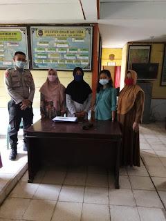 Sat Binmas Polres Enrekang Gencar Laksanakan Sosialisasi Penggunaan Masker