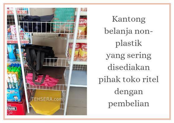 kantong belanja non plastik