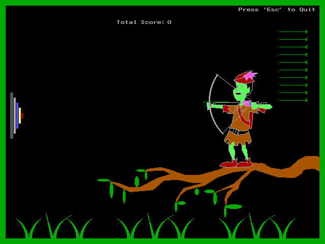 Computer Projects: My 2nd year Mini-project, an Archery game