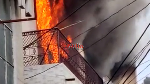 fire in bijnor