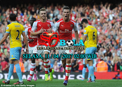 PREDIKSI PERTANDINGAN CRYSTAL PALACE Vs ARSENAL 11/04/2017