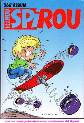recueil spirou 266