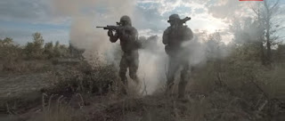 solider fighting photo