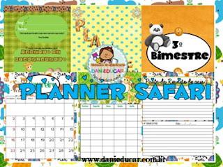 caderno de planejamento, Educação Infantil, Ensino fundamental, planejamento pedagógico, Planner para professores,