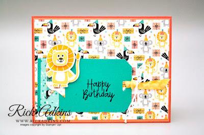 Bonanza Buddies Suite Bundle, Rick Adkins, Stampin' Up!, Birthday Card, Last Chance List 2020