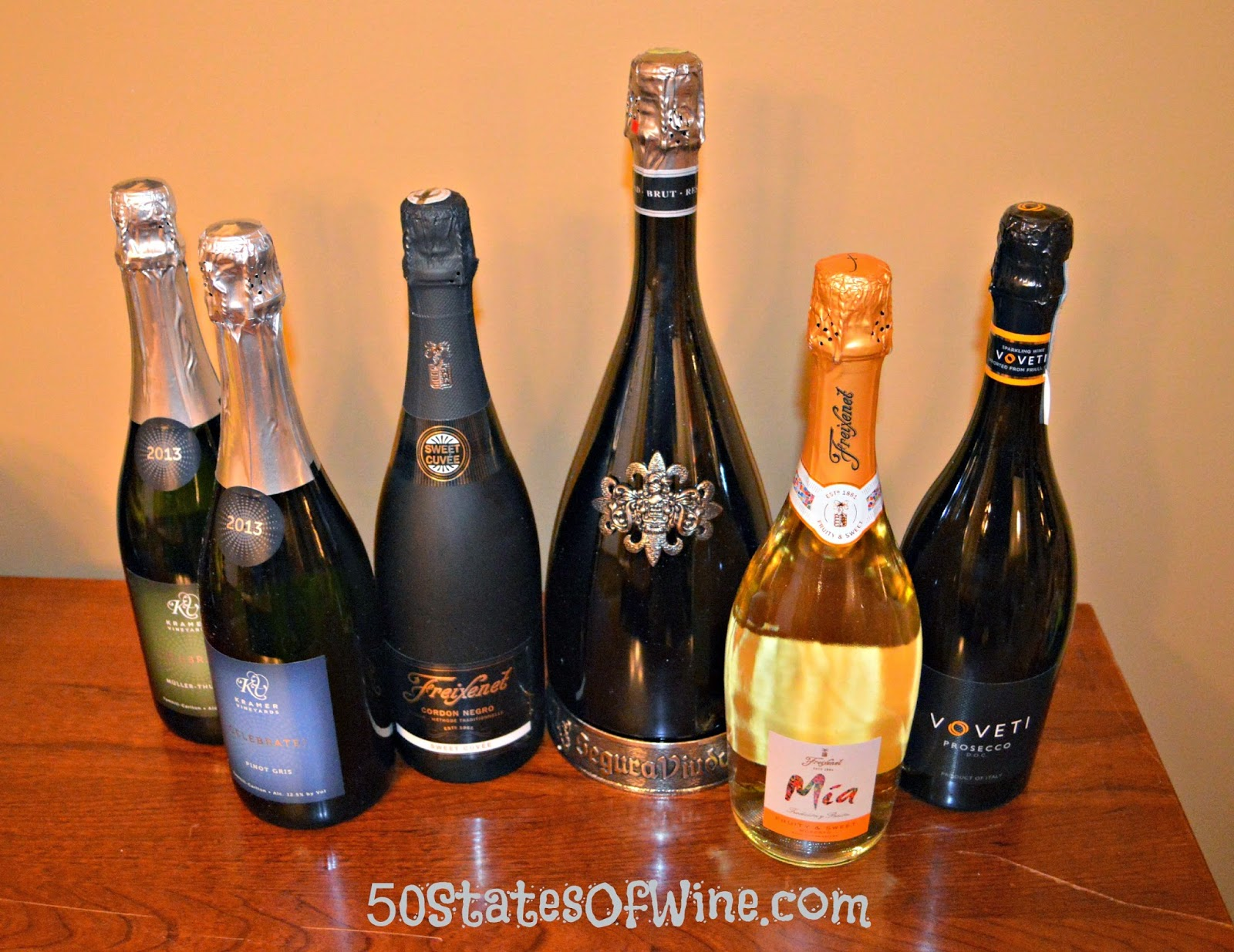 New Year's Sparkling Wines