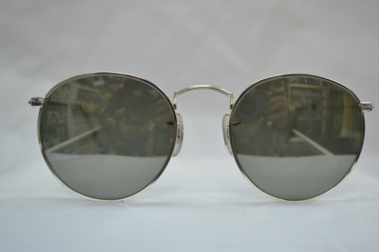 8f7a130bc9a Vintage sunglass  Vintage Ray Ban round W2248! NOS! USA!