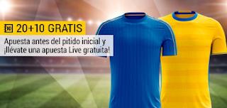 bwin promocion 10 euros Italia vs Suecia 13 noviembre