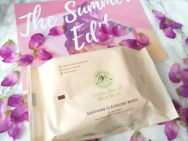 AA Skincare Green Tea and Aloe Vera Cleansing Wipes