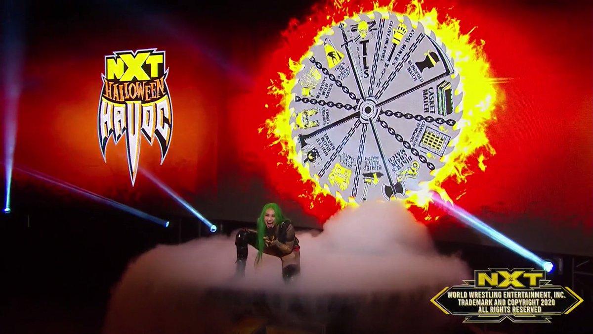 WWE NXT Halloween Havoc deve retornar em 2021
