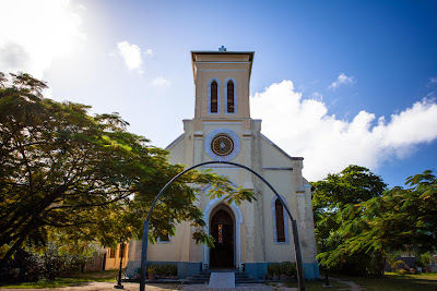 Kirche auf La Digue, Seychellen
