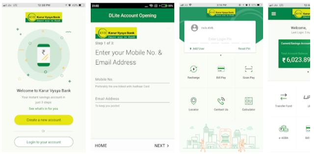 YouthApps - KVB - DLite & Mobile Banking Mobile Apps