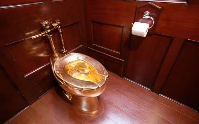 Golden toilet worth £1m stolen from Blenheim Palace