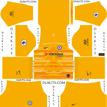 Download Kit DLS Chelsea GoalKeeper Home 2019 - 2020