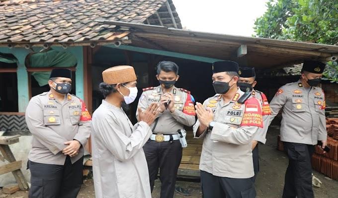 Laksanakan Program Pendekar, Kapolresta Tangerang Saba ke Ponpes Daarul Azkiyah dan Beri Imbauan Santri Agar Tertib 5M