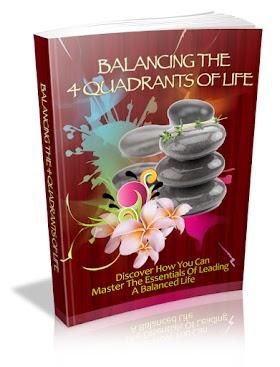 Free eBook Balancing the 4 Quadrant of Life