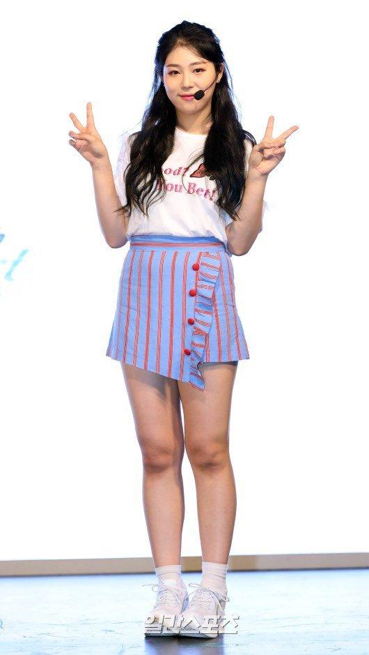 60kg kpop idol  she looks so healthy