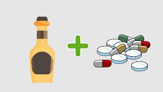 Alcohol and Paracetamol dangerous food combinations