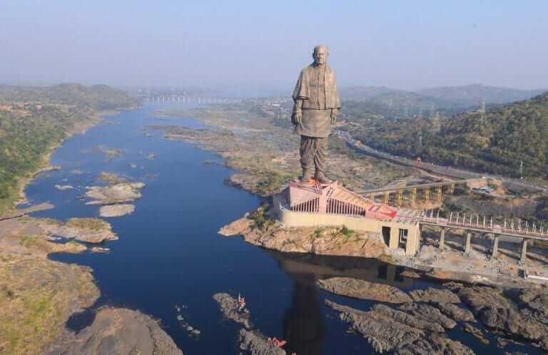 Statue of Unity Kevadia -cnbc18tv