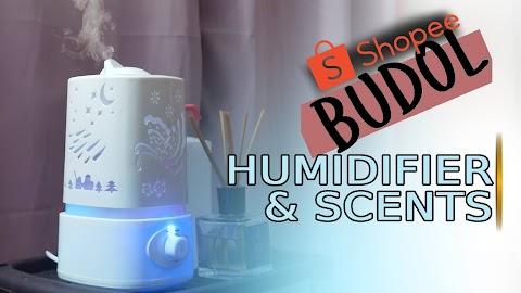 Ultrasonic Air Humidifier & Hotel Inspired Scents | Shopee Budol