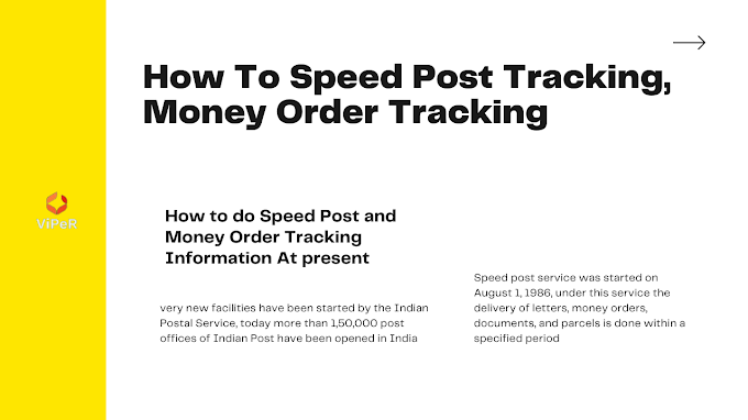 How To Speed Post Tracking, Money Order Tracking