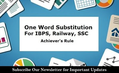 Repeated and Expected One Word Substitution
