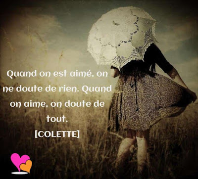 Citation aimé de COLETTE